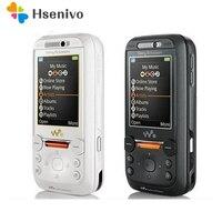 100% Original Unlocked Sony Ericsson W850 GSM 3G 2.0MP 950mAh Bluetooth Black Color Slider Mobile Phone Cellphone Free Shipping