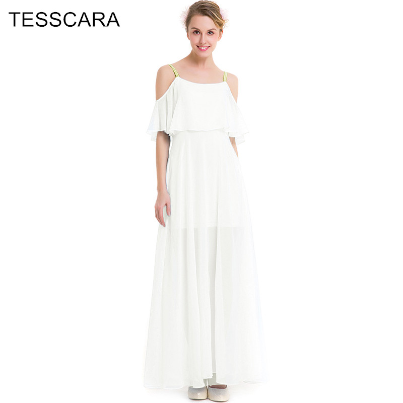 Women Summer Elegant Long Maxi Dress Sweet Fashion Designer Beach ...