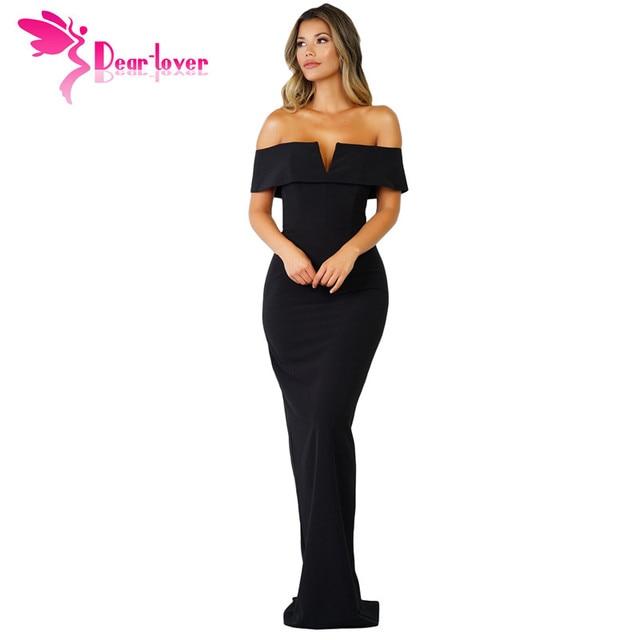 Top Querido Amante vestido longo 2018 mulheres verão Vestidos Preto  GH23