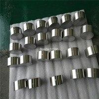 TiAl 70 30 Target For Vacuum Coating PVD Titanium Target 81mm OD X37mmH Plating Rose Gold