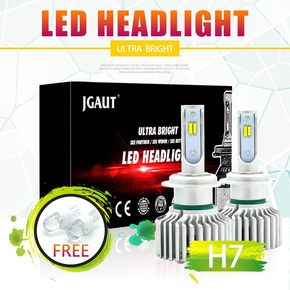 LOAUT 3 Interrupteur de Couleur 3000 k 4300 k 6000 k H7 LED Phare 8000LM Brouillard Lumière 3C Salut-Lo faisceau Feux Anti-Brouillard Ampoule de voiture-style Auto