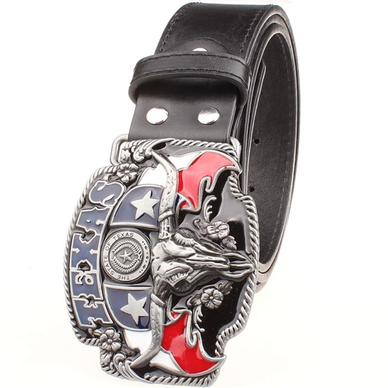 Salvaje oeste personalidad de vaquero Cinturón de los hombres - Accesorios para la ropa - foto 2