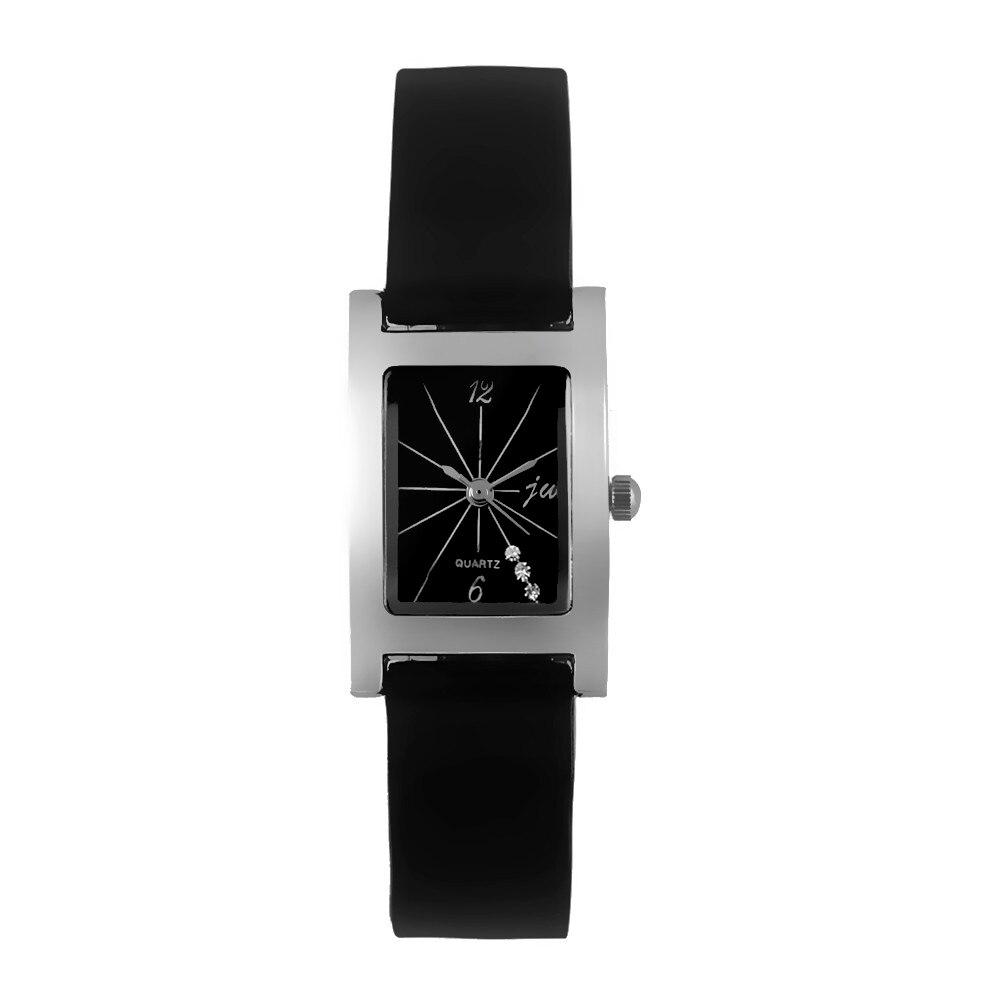 Mance Wrist watches for women New Fashion Brand Gentlmen PU Leather High-Quality Dail Quartz Watch Black luxury gift mance ladies brand designer watches