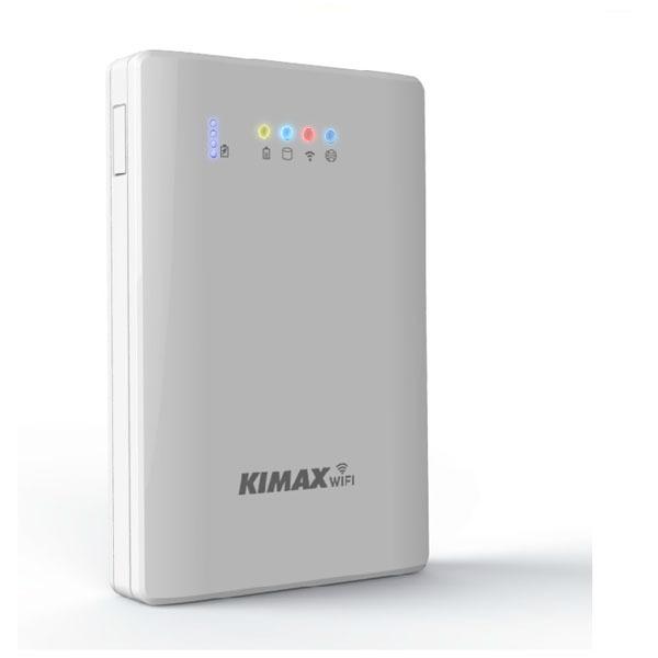 Adaptador de disco duro portátil de 2.5 pulgadas caja de disco duro USB 3.0 disco duro caso caja de almacenamiento WiFi router banco de la energía función (500G hdd incluido) U25AWF