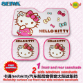 accessories Cartoon hellokitty  front  side window sunshade Foils Windshield Visor Cover UV Protect Car window Film KT116A