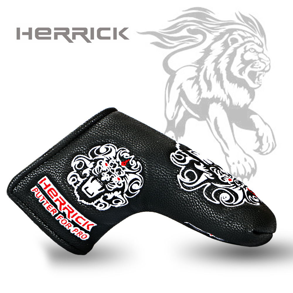Image 3 - Golf putter headcover golf Head the design of the lion's head Cover with Blade Style 2018 NEW Free Shipping-in Golf Clubs from Sports & Entertainment