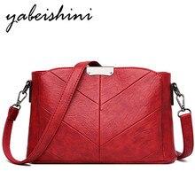 women's leather shoulder bag Soft square package Messenger Bag handbags for women luxury crossbody bags Retro tote Sac A Main недорого
