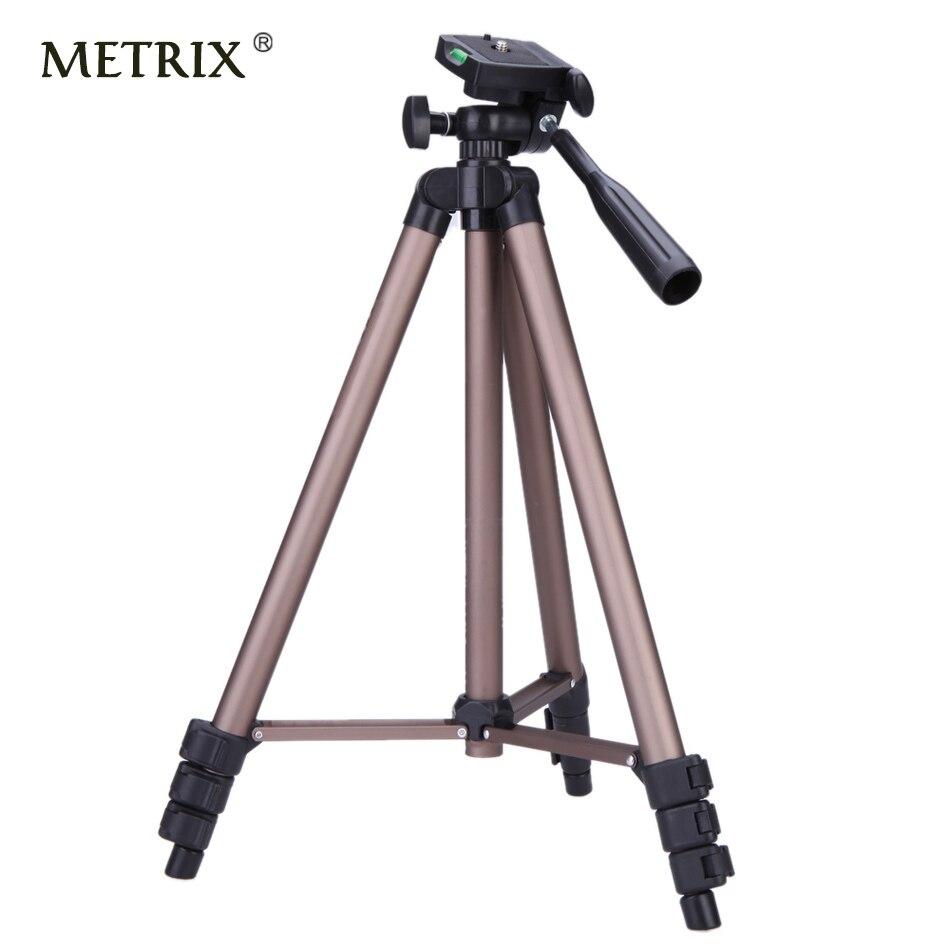 METRIX WT3130 Aluminum alloy Camera font b Tripod b font for projector dvr smartphone DSLR telefon