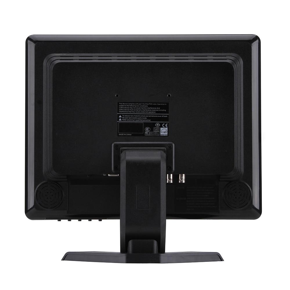 Image 3 - 17インチquadディスプレイ画面cctv tft ledモニター付き金属シェル& 4 bnc/vga用pc &マルチメディア& donitorディスプレイ&顕微鏡cctv monitorinch vga monitormonitor bnc -