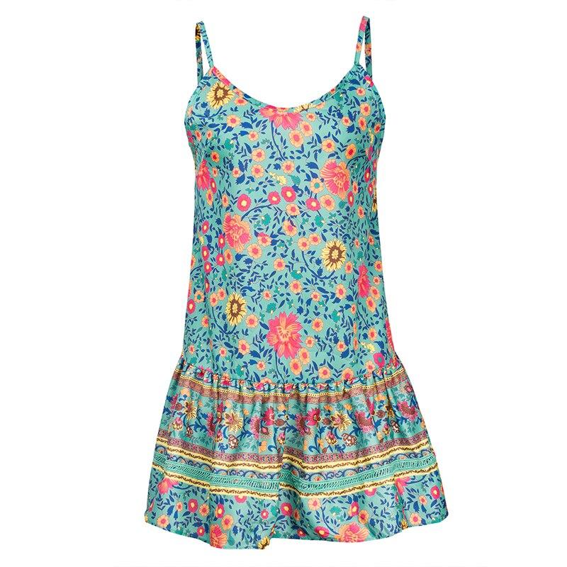 1 vieunsta vintage floral imprimir praia vestido de verão das mulheres novas com decote em v plissado uma linha de mini vestido elegante vestido plissado vestido de verão cinto - HTB1KzbJaJfvK1RjSspoq6zfNpXaC - VIEUNSTA Vintage Floral Imprimir Praia Vestido de Verão Das Mulheres Novas Com Decote Em V Plissado Uma Linha de Mini Vestido Elegante Vestido Plissado Vestido de Verão Cinto