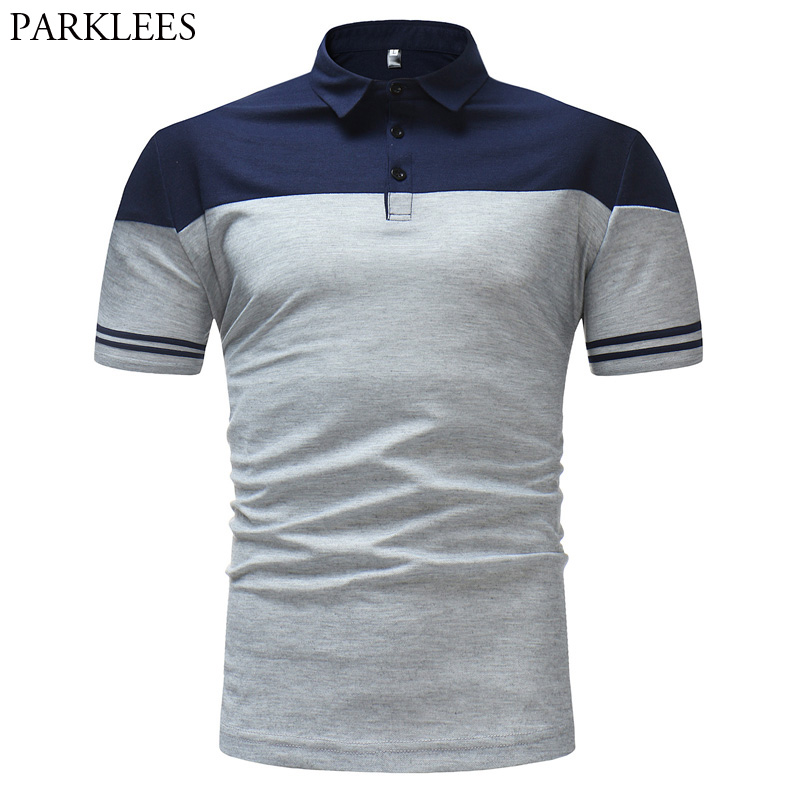 Brand Men   Polo   Shirt 2018 High Quality Mens Slim Fit Short Sleeve   Polo   Shirts Men Summer Casual Breathable   Polos   Para Hombre XXL