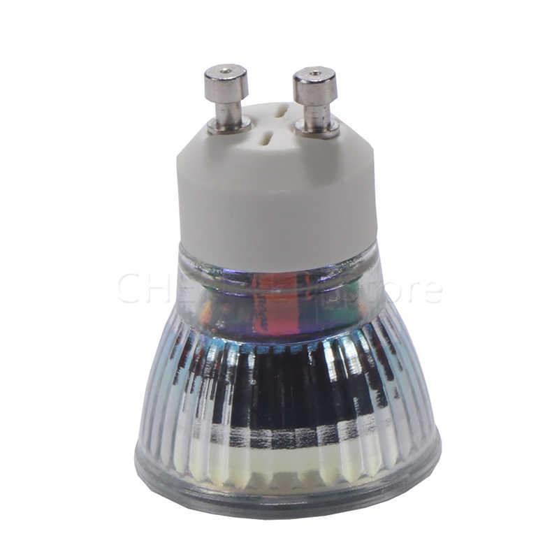 1-10Pcs LED GU10 COB mini GU10 dimmable Spot Light Bulb Lamp 5W 35mm MR11 COB LED spot lamp Warm/Cool White replace halogen lamp