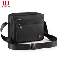 BALANG Brand 2018 Men Business Crossbody Bag For Boys Girls Large Capacity Unisex Trendy Travel Casual