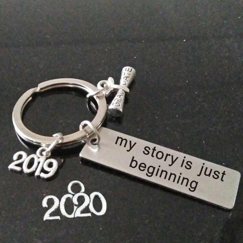 graduation gift my story is just beginning inspiration quote