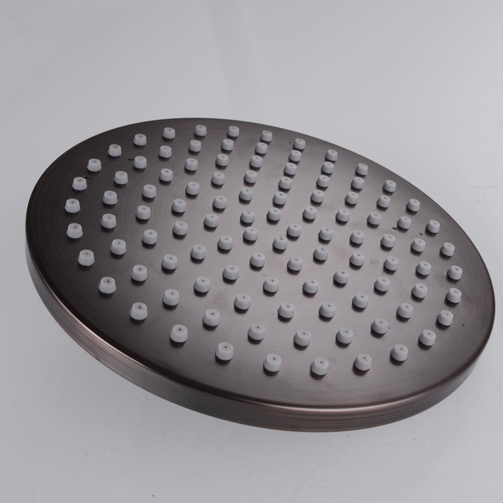 все цены на Oil Rubbed Bronze Stainless Steel 8-Inch Big Rainfall Shower Head Bathroom Overhead Showerhead--2254 онлайн