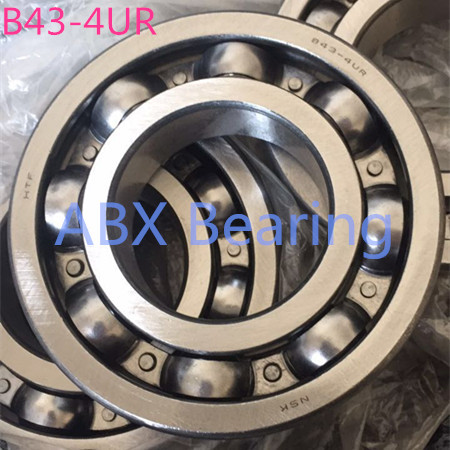 все цены на Free shipping B43-4A B43-4UR B43 auto bearing 43x87x19.5 mm Automobile gearbox differential box bearing 43*87*19.5 auto bearing