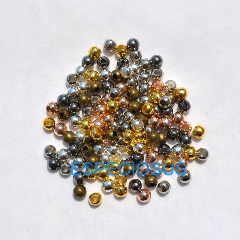 100 cái/lốc Cord End Hạt Ornaments Hợp Kim Vòng Hạt cho Vòng Cổ Và Vòng Bracelet chain DIY Trang Sức Phát Hiện Kim Loại Phụ Kiện