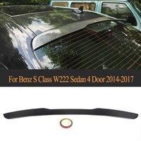 Carbon Fiber Rear Roof Window Tail Wing Spoiler for Mercedes Benz W222 Sedan 4 Door 2014 2017 S63 S65 AMG S400 S500 S600