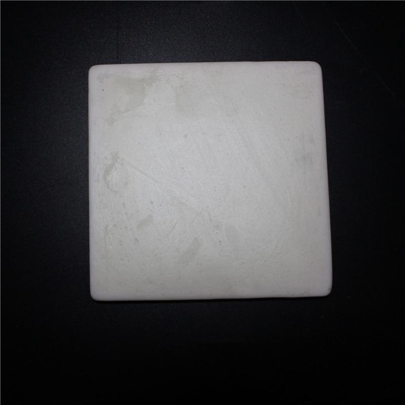 Machinable glass ceramic / plate / L*W*H =100*100*30mm / insulating /