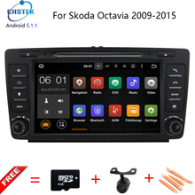 8 inch android 5.1 capacitive For Skoda Octavia car dvd player GPS with Quad core+3G+Wifi+Radio+BT phonebook+Ipod +USB+Canbus