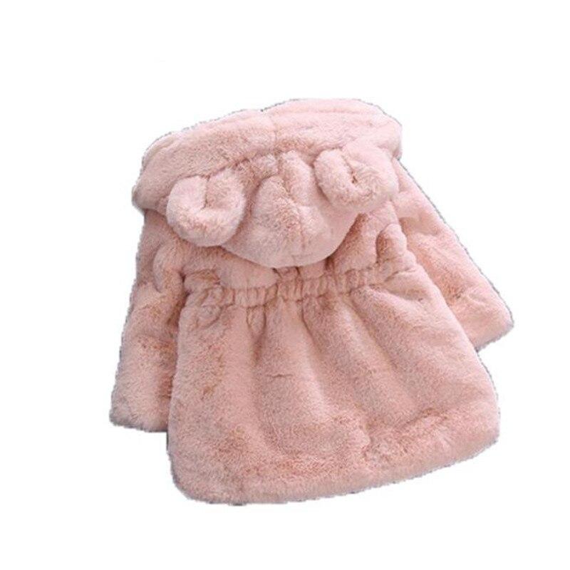 da1bf9a00 Weoneit Winter Baby Girls Faux Fur Fleece Coat Party Pageant Warm ...