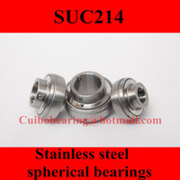 Freeshipping Stainless Steel Spherical Bearings SUC214 UC214