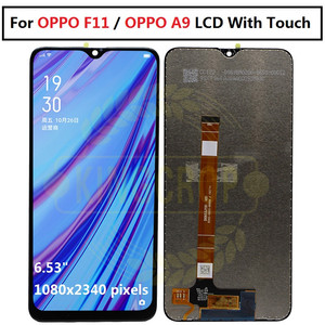 Image 2 - For OPPO F11 F 11 LCD CPH1913 CPH1911 For OPPO F11 pro CPH1969 Display Screen Touch Panel Digitizer Assembly For OPPO A9 lcd