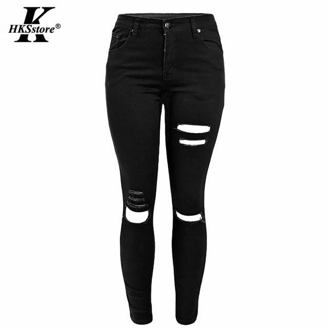 Online Buy Wholesale black color jeans from China black color ...