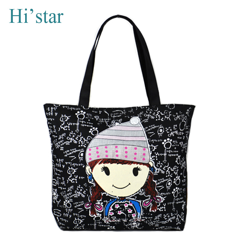 Women Canvas Handbag Large Space Zipper Shopping Travel Shoulder Bag Girls  Beach Bookbag Casual Tote bag c63fef486