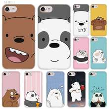 PlusLovely bulbo/foco osos de moda funda transparente para iPhone XI R 2019 XS Max XR X 4S 5S iPhone 6 6 6s 7 8 Plus(China)