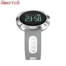 Smartch DM58 умный Браслет IP68 Водонепроницаемый Приборы для измерения артериального давления сердечного ритма Мониторы напоминание спортивные Smart Band PK DM68 GT08 DZ09