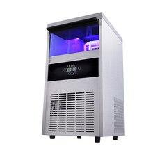 Jamielin-máquina automática para hacer hielo de 68kg/24h, máquina para hacer cubitos con entrada de agua con grifo