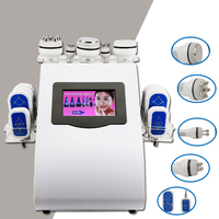 Up To Date 5 In 1 RF Skin Lifting Firming Ultrasonic Liposuction Cavitation Vacuum Body Shape Slimming Machine For Slimming