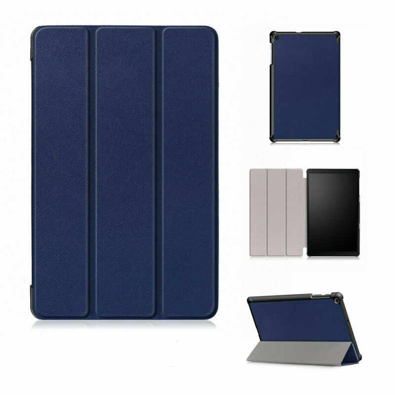 Coque Funda Case untuk Samsung Galaxy Tab A 10.1 2019 T510 T515 SM-T510 Tablet Cover Magnetic Folding PU Kulit Berdiri shell Case