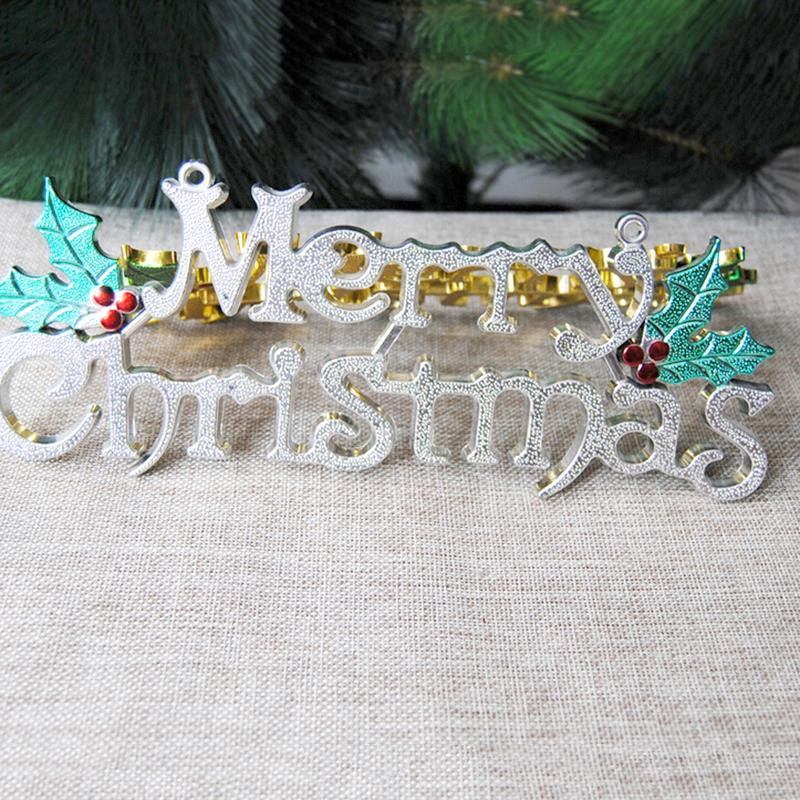 Letter Christmas Tree Topper: Merry Christmas Letter Chipboard Chips Tags DIY Christmas