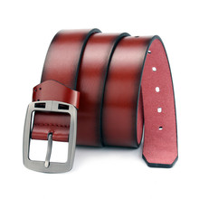 2019 Fashion Pin Buckle Strap for Male Jeans Belt Quality PU Leather Luxury Belts Men Designer Mens