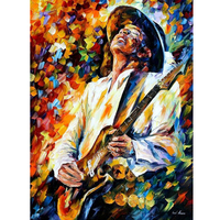 Hand Painted Landscape Abstract Portrait Of Musicians Knife Modern Oil Painting Canvas Art Living Room hallway Artwork Fine Art