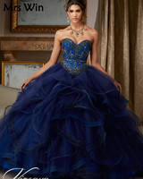 Puffy Princess Popular Debutante Gown Navy Blue Quinceanera Dresses 2019 Cheap Quinceanera Gowns Sweet 16 Dresses For 15 Years