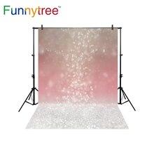 Funnytree fundo para estúdio de fotografia bokeh abstrato de halo de Natal brilham fotografia cenário photobooth photocall impresso