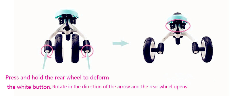 HTB1Kzf3XvfsK1RjSszbq6AqBXXaA 2019 new children's tricycle trolley 2-3-6 years old bicycle lightweight folding bicycle stroller