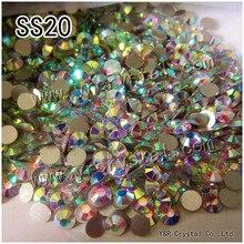 #2028 NoHF SS20 AB 1440 Stücke Top Qualität No Hotfix Strass Flatback Kristall Glitter Glas Strass Für Nägel
