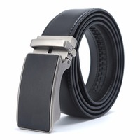 Genuine Leather Belt Men Automatic Buckle Gold Famous Designers Luxury High Quality Strap Male Business Belts