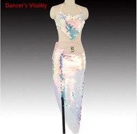 Women belly dance clothes Bling Bling Dance Suit Bra+Skirt 2Pcs Latin Dance Suit Fashion Clothes S,M,L