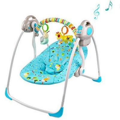 3138c2f100ac Free shipping electric baby swing chair baby bouncer swing newborn ...