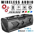 Bluetooth Wireless Speakers Waterproof Portable Speaker Outdoor Sport Boombox NFC Dustproof Shockproof Anti-scratch as powerbank