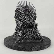 Игра престолов фигурка игрушки кресло из мечей модель игрушки Песнь Льда и Огня Железный Трон стол Рождественский подарок 17 см