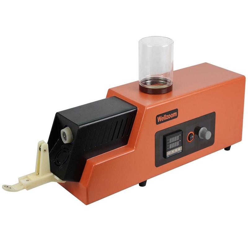 REX C100 3d Filament extruder machine Speed Adjustable 3d filament maker Desktop 3D printing consumables extruder