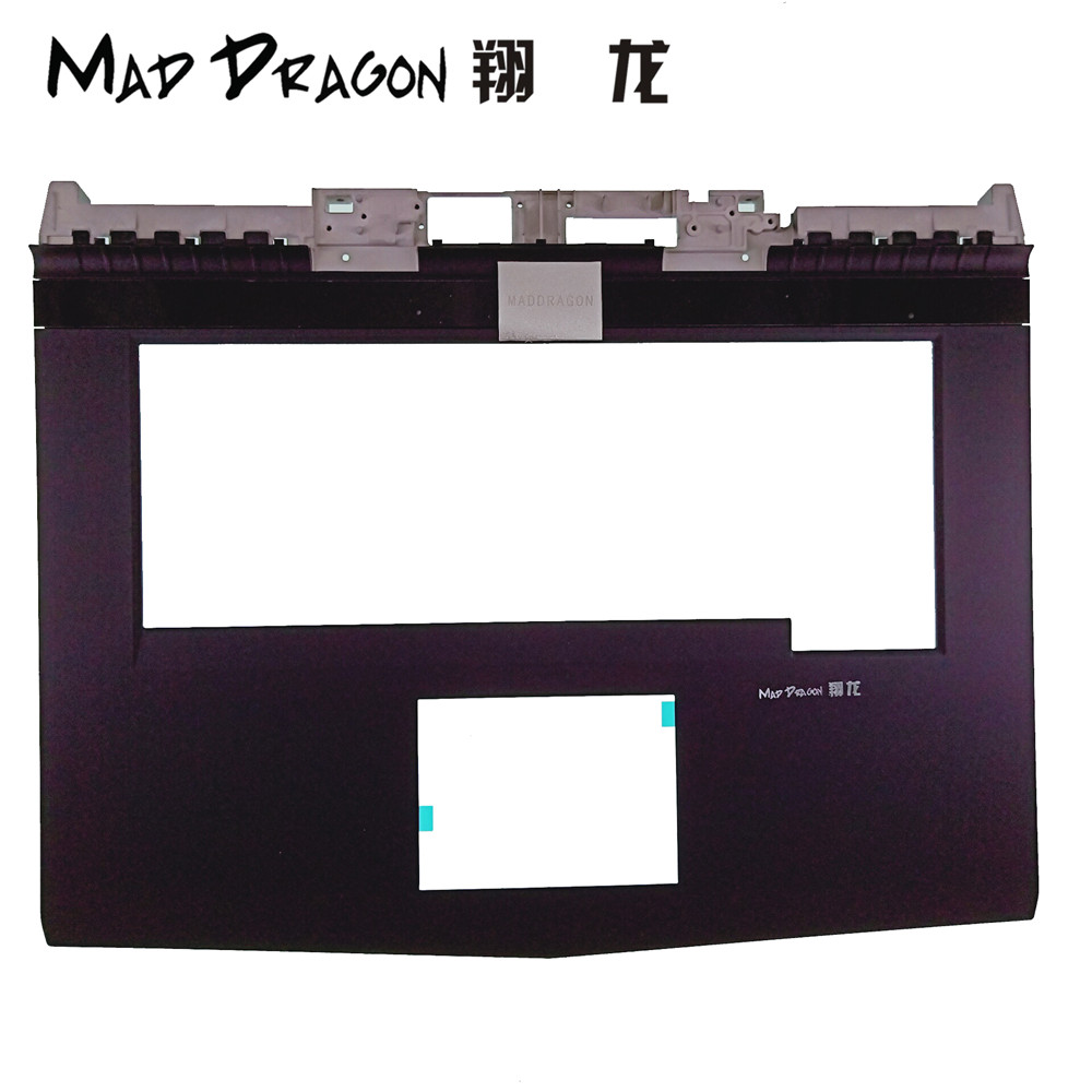 MAD DRAGON Brand Laptop new Replacement Parts Palmrest Upper Cover Case For Dell Alienware M15X R3 R4 ALW15 R3 R4 VN6FK 0VN6FK 69wh genuine laptop battery for dell alienware 14 a14 m14x r3 r4 g05yj 0g05yj y3pn0 8x70t alw14d 5528 alw14d 1528 alw14d 4528
