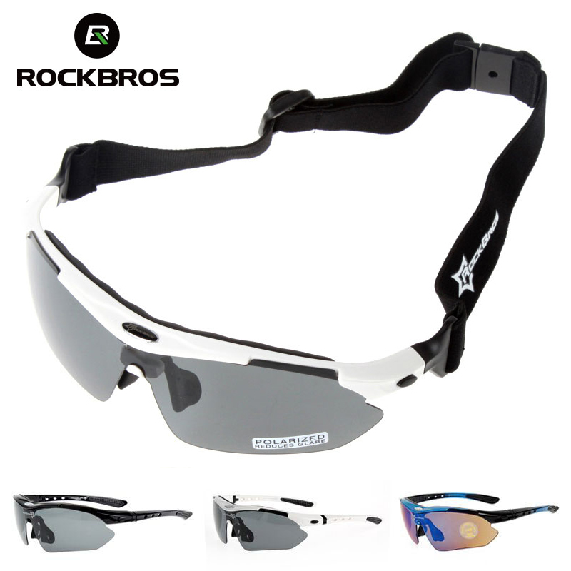 ROCKBROS Hiking Glasses UV400 Polarized Sunglasses Men Tactical Shooting Goggles Fishing Climbing Sport Glasses Cycling Goggles hardcase for jazz guitar not sold separately