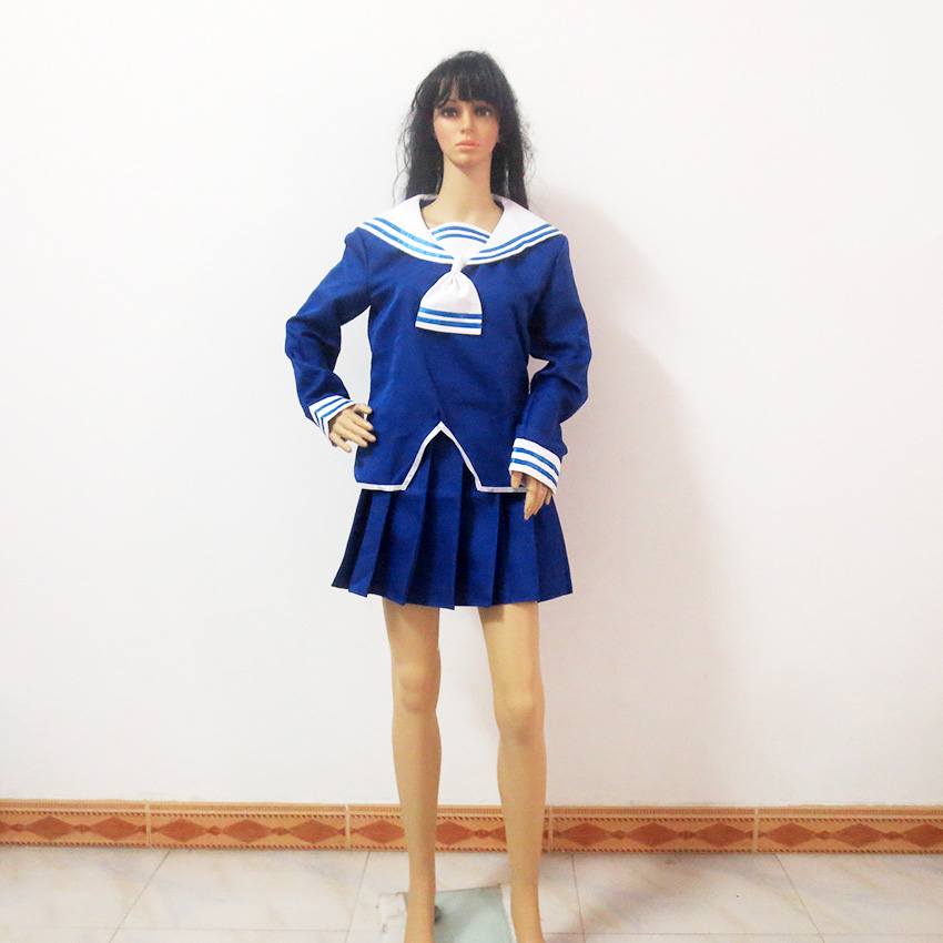 Fruits Basket Tohru Honda Christmas Party Halloween Uniform Outfit Cosplay Costume Customize Any Size